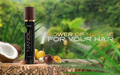Hair Oiling with Nanoil Hair Oils